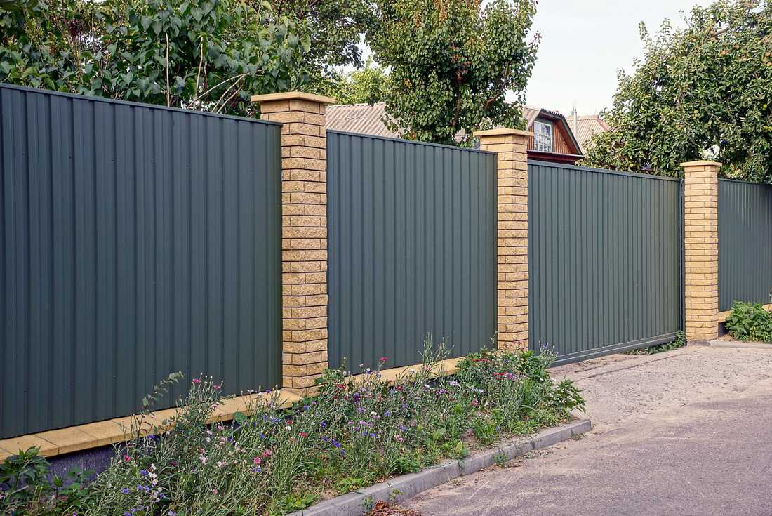 Northern Beaches colorbond fences and gates